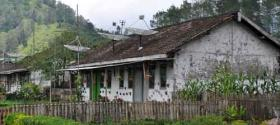 Local houses with antenna